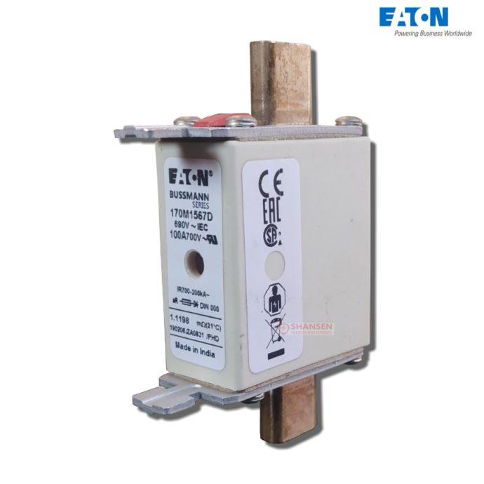 Eaton_Bussmann_series_high_speed_square_body_fuse_170M1567D