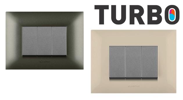 Lisha Turbo Cover Plates