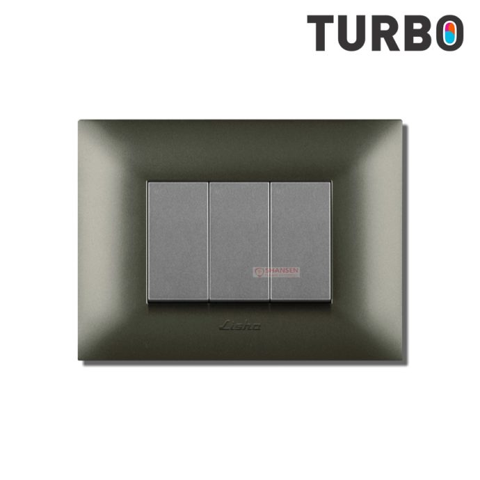 Turbo_Graphite_grey_cover_plate