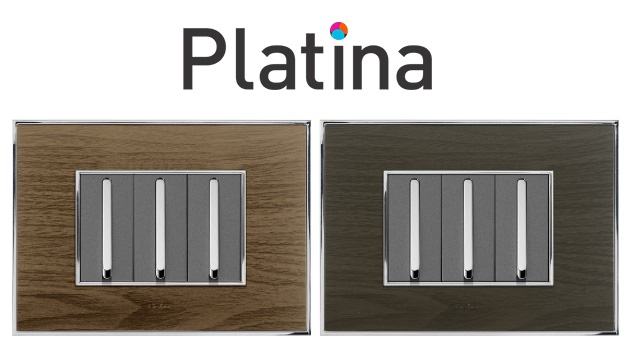Lisha Platina Cover Plates